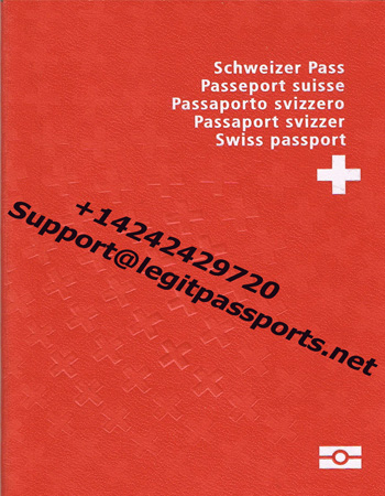 Switzerland passport 1