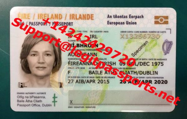 ireland passport card